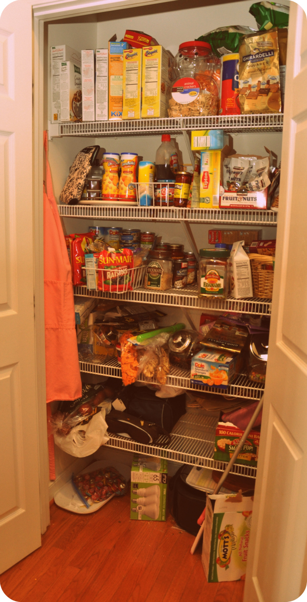Controlling Chaos Pantry Re Organization Moments That