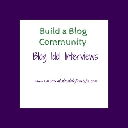 Blog idol interview build a better blog by building a for Build blog