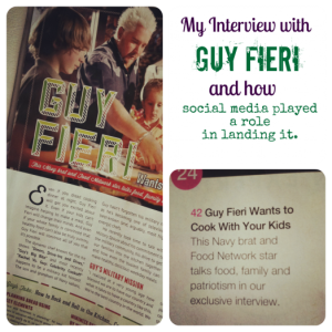 My Interview with Guy Fieri