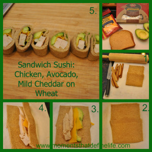 School Lunch Time Management & Sandwich Sushi Success Tips!