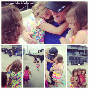 Life as a Military Family: Reunions are the Sweetest