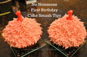 No Nonsense First Birthday Cake Smash Tips